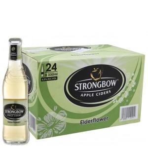 Thùng 24 chai Strongbow hoa Elder 330ml
