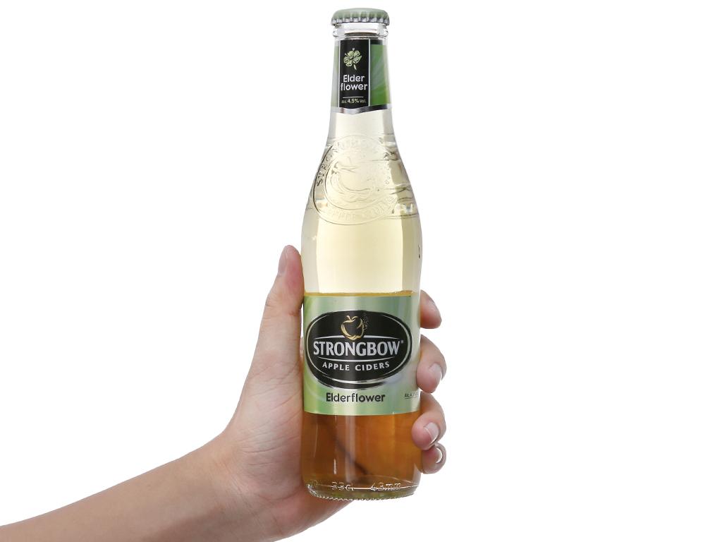 Thùng 24 chai Strongbow Hoa Elder 330ml 4