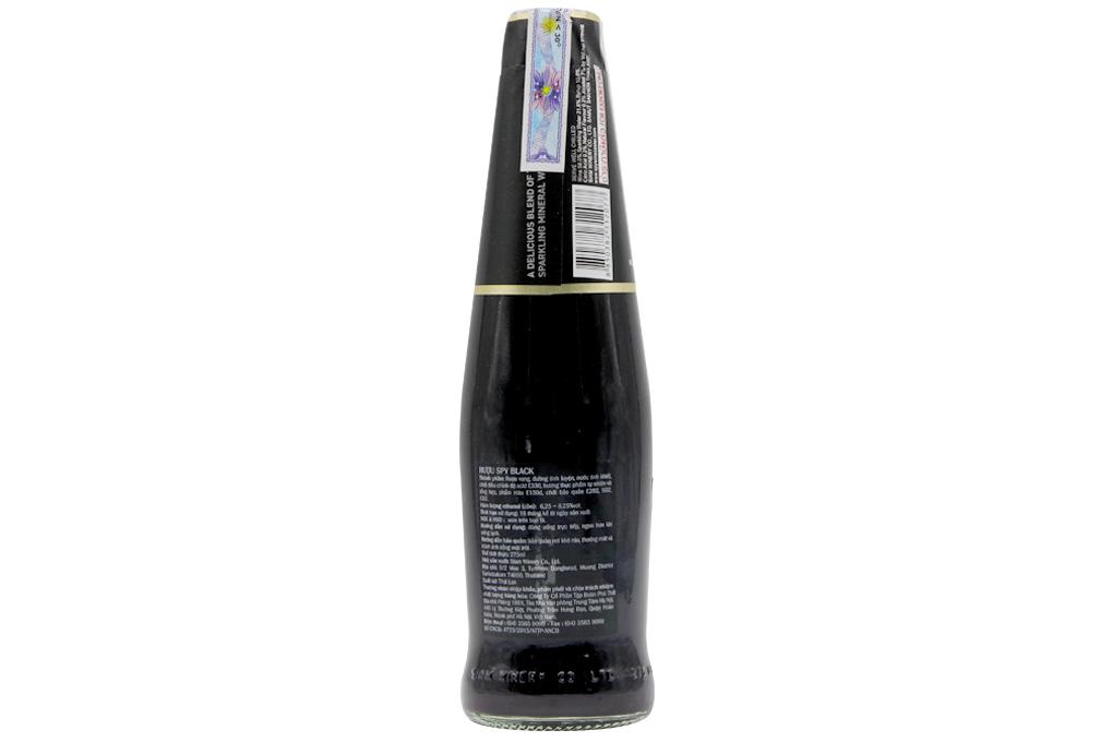Thùng 24 chai Spy Black 275ml 3