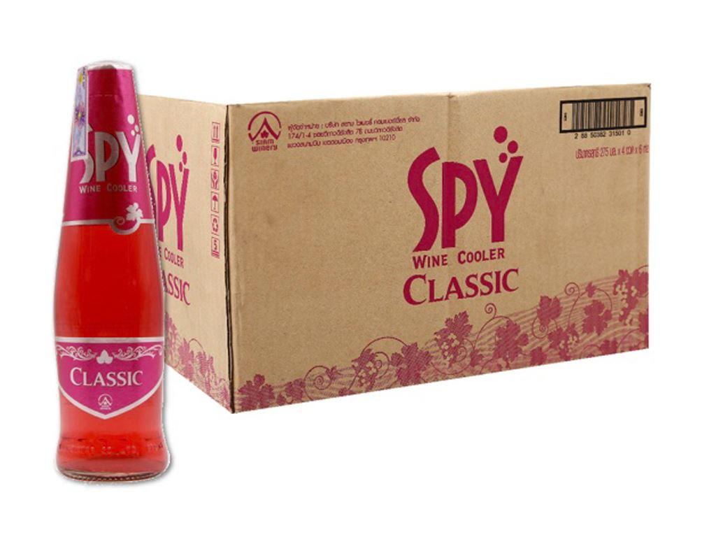 Thùng 24 chai Spy Classic 275ml 1