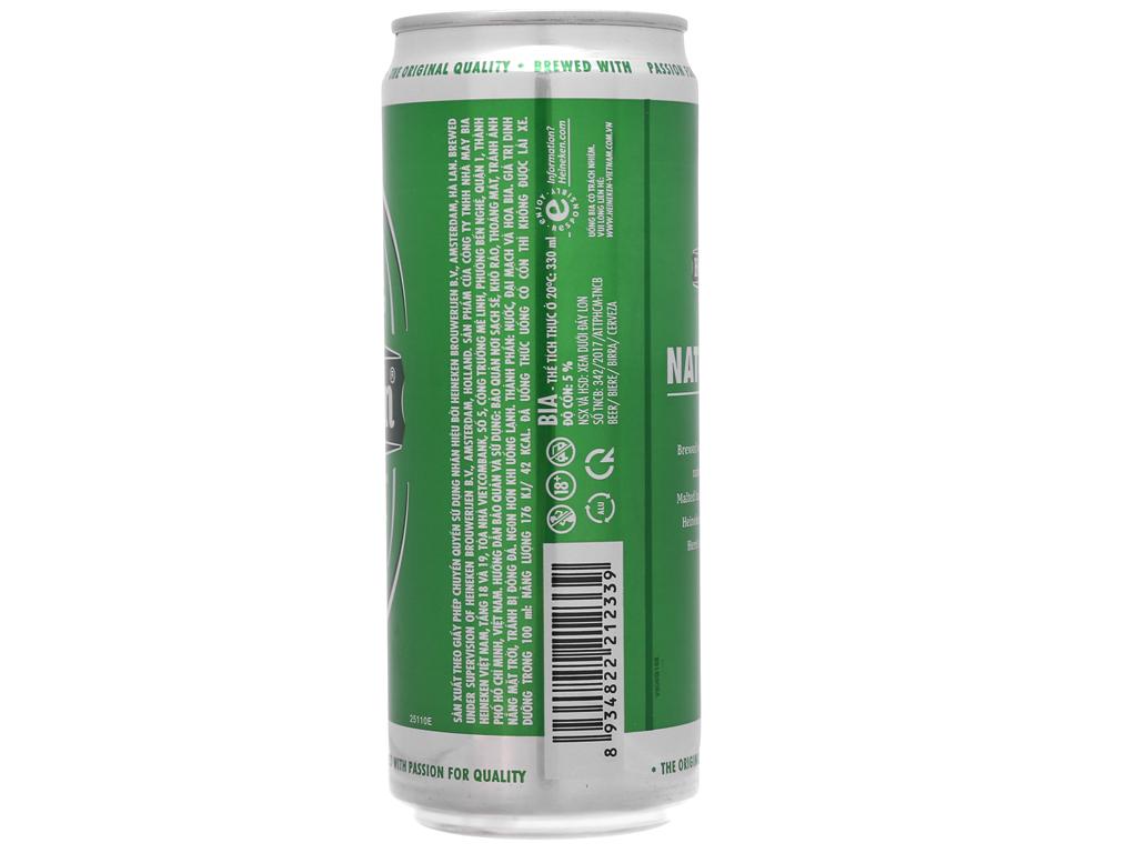 Bia Heineken 330ml 3