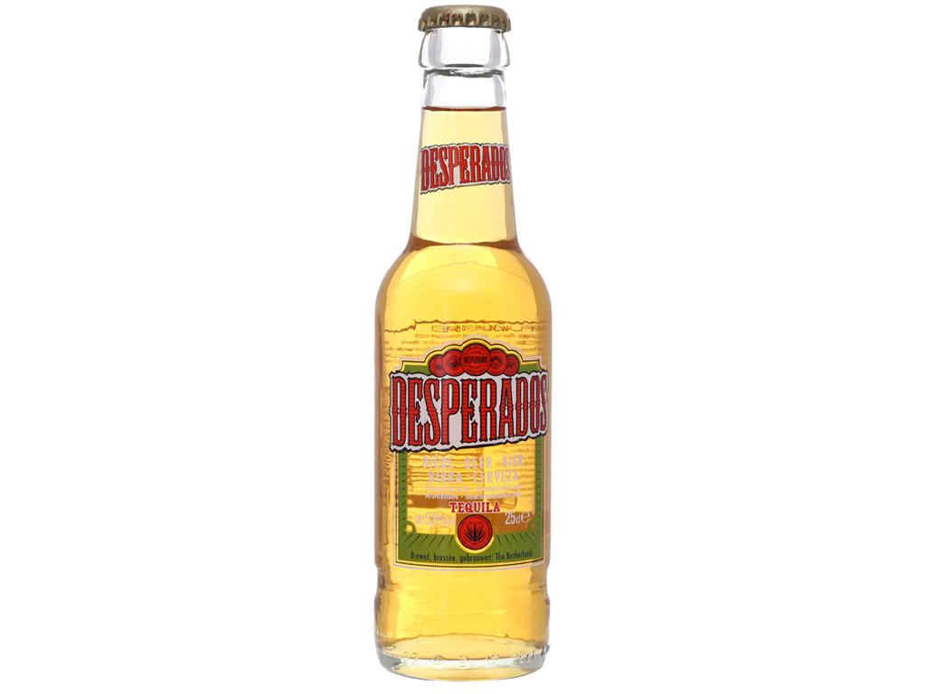 Thùng 24 chai bia Desperados 250ml 2