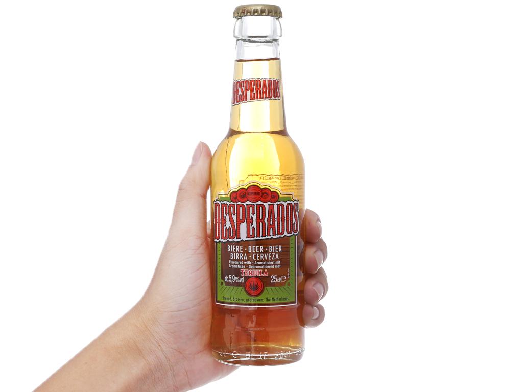 Thùng 24 chai bia Desperados 250ml 6