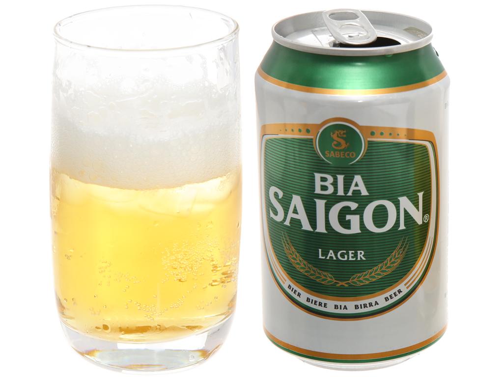 Bia Sài Gòn Lager 330ml 3