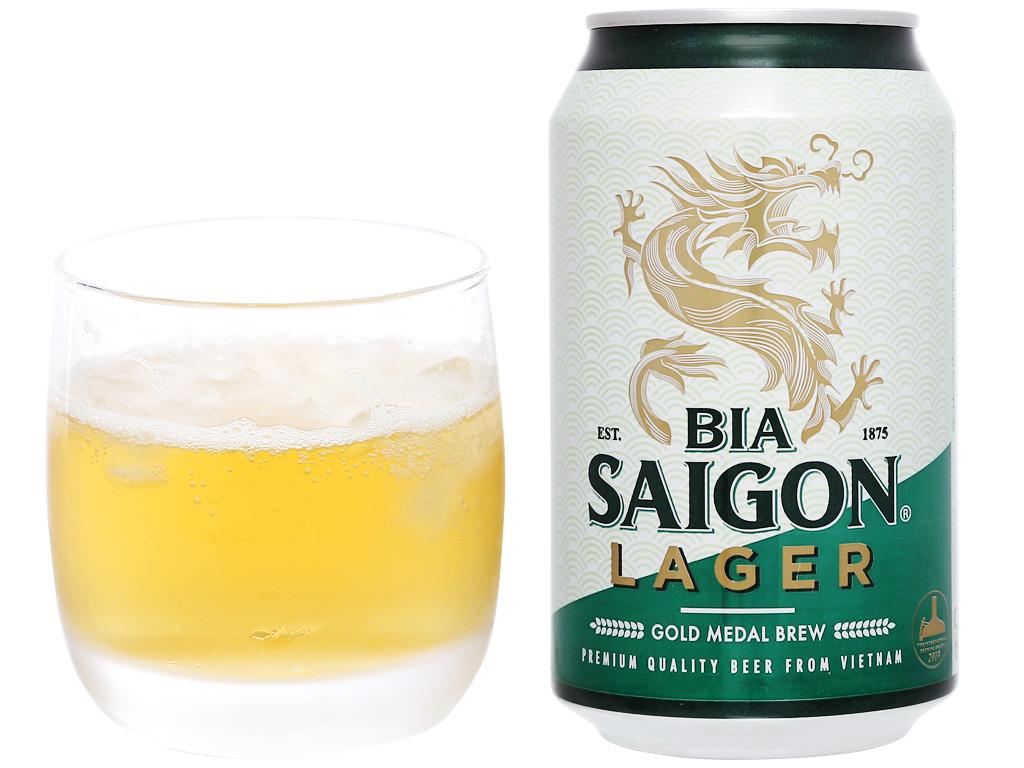 Bia Sài Gòn Lager 330ml 10