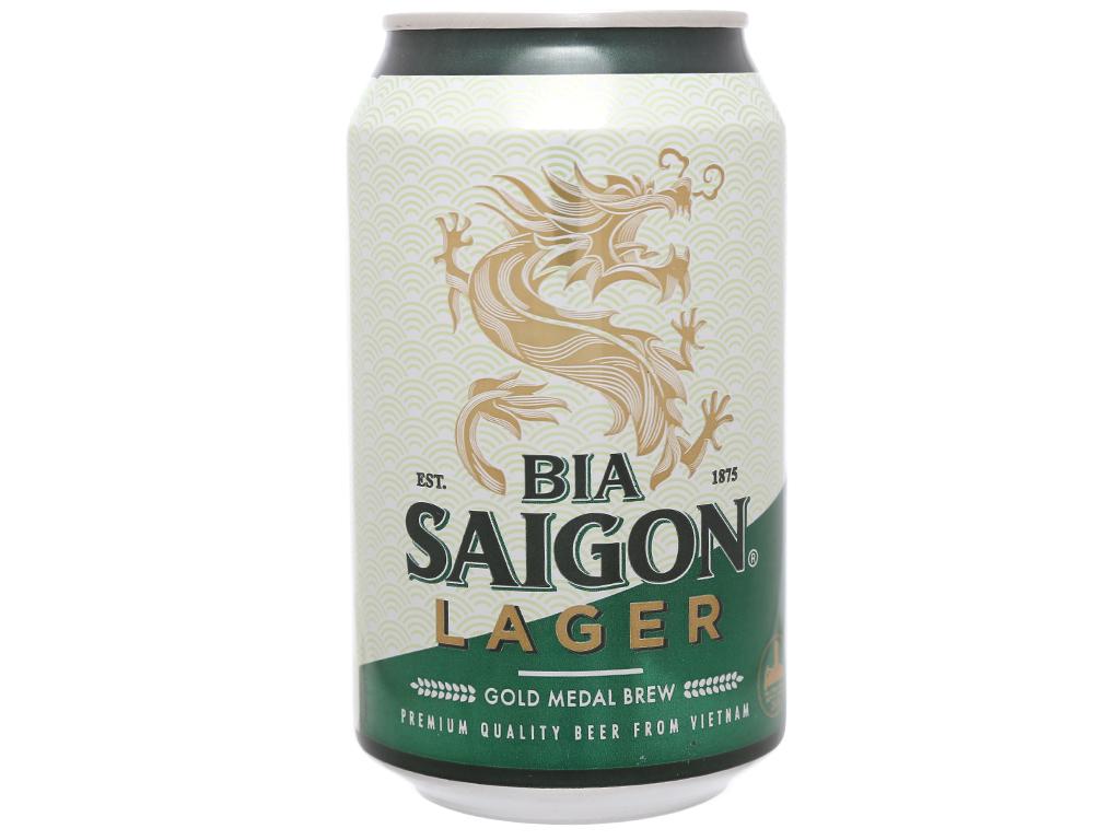 Bia Sài Gòn Lager 330ml 11