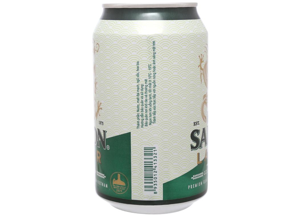 Bia Sài Gòn Lager 330ml 12