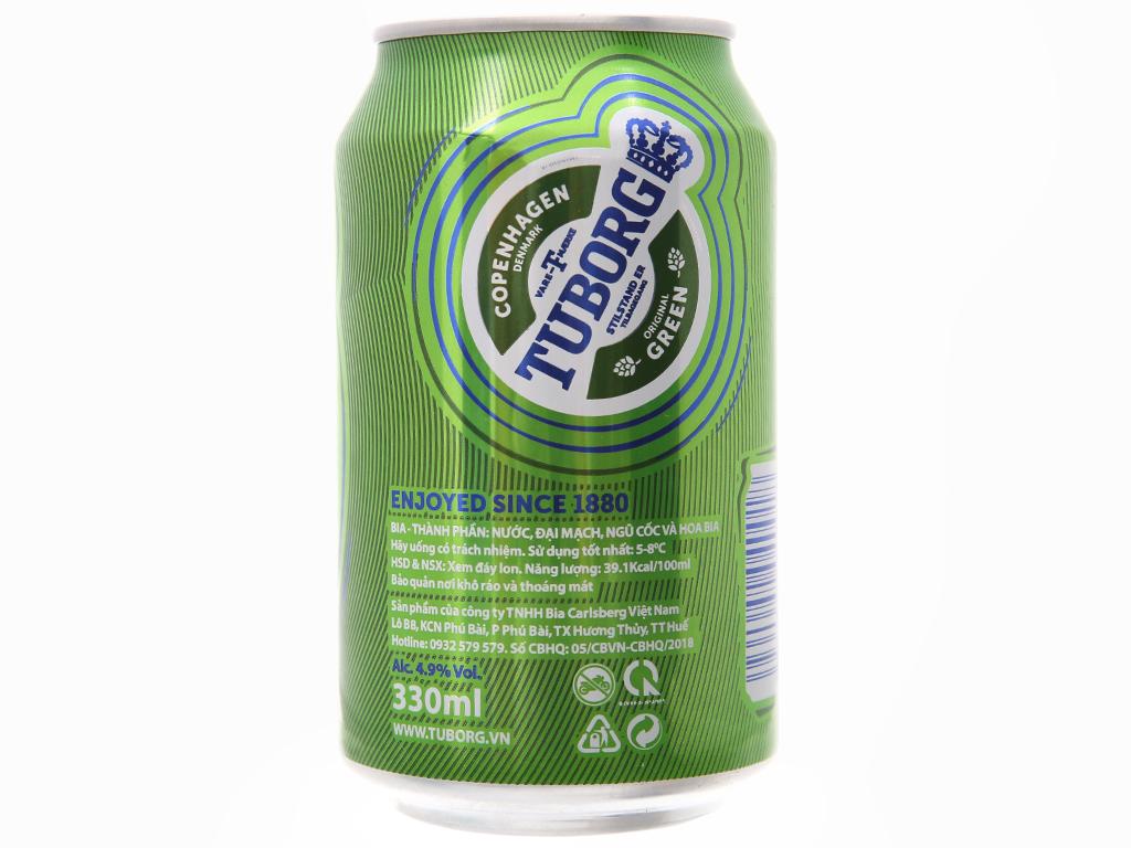 Thùng 24 lon bia Carlsberg 330ml 3