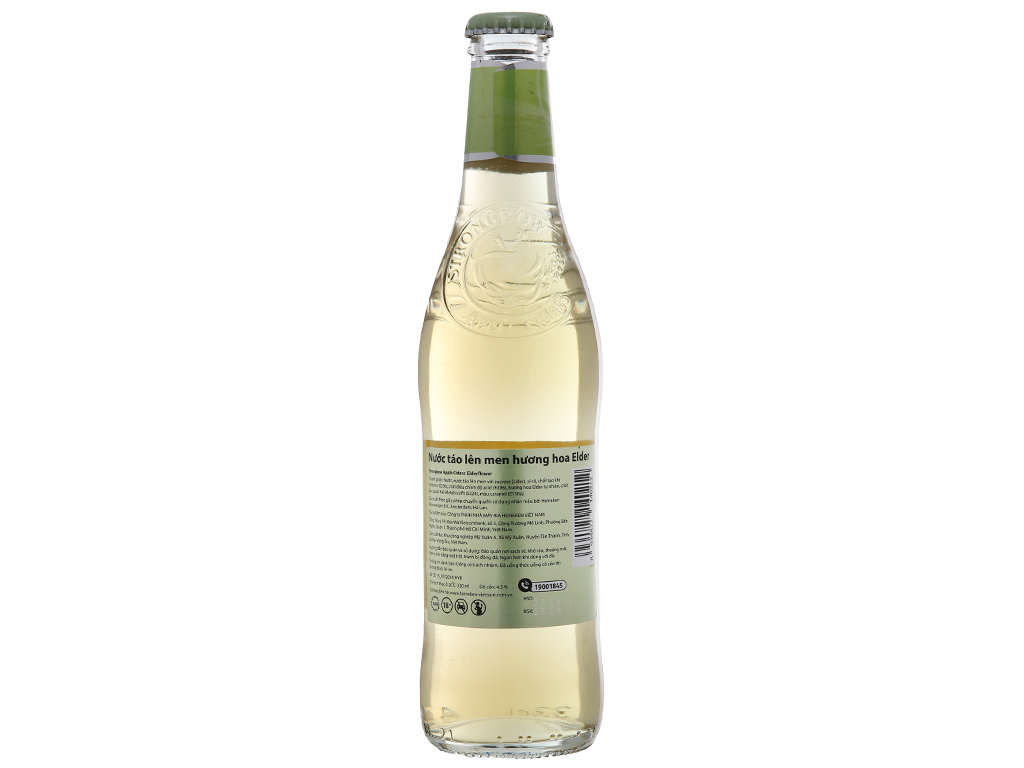 4 chai Strongbow hoa Elder 330ml 2