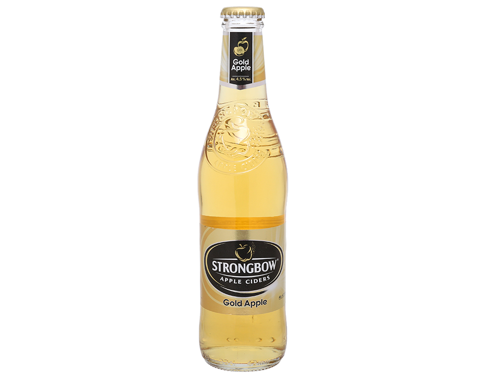 4 chai Strongbow táo 330ml 8