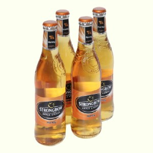 4 chai Strongbow mật ong 330ml