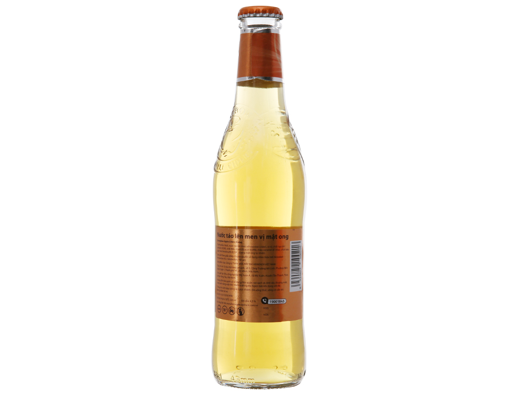 4 chai Strongbow mật ong 330ml 2