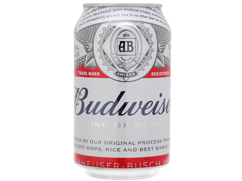 Thùng 24 lon Bia Budweiser 330ml 2