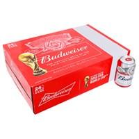 Thùng bia Budweiser lon 330ml (24 lon)