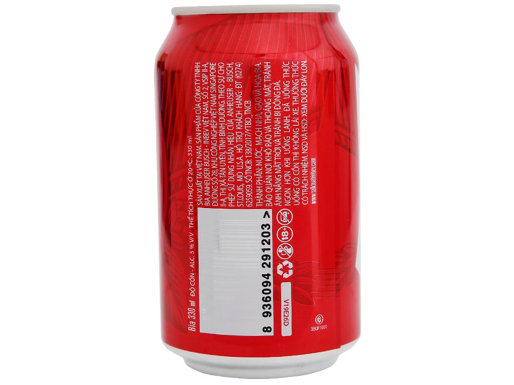 Bia Budweiser 330ml 9