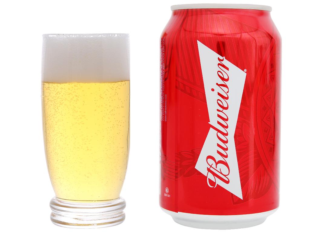Bia Budweiser 330ml 12