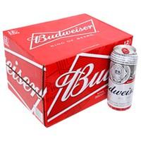Thùng bia Budweiser lon 500ml (12 lon)