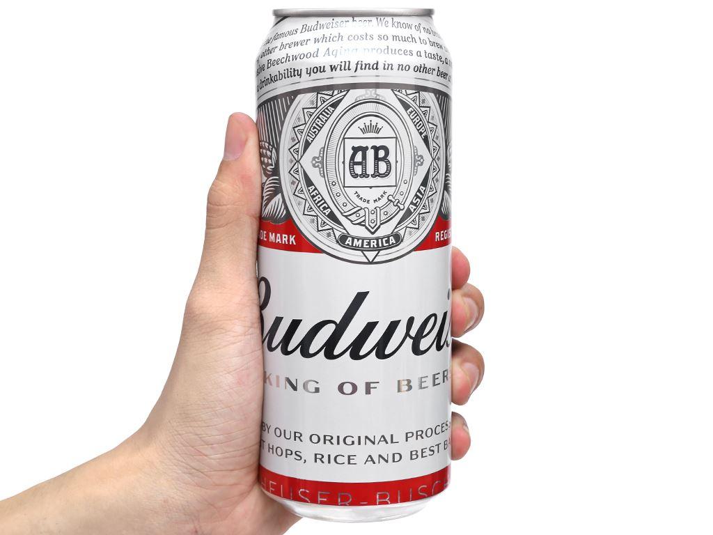 Bia Budweiser 500ml 8