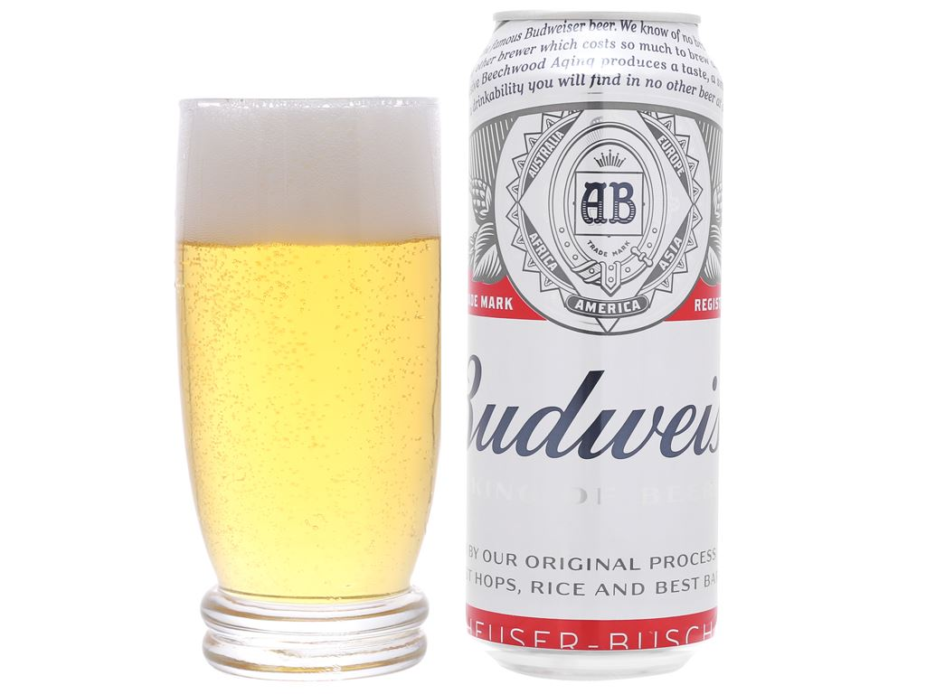 Bia Budweiser 500ml 4