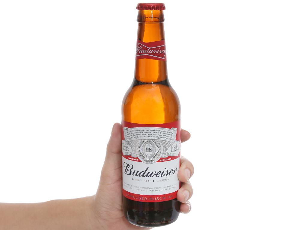 Bia Budweiser chai 330ml 4