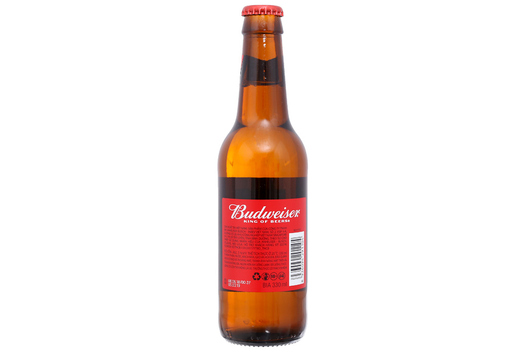 Bia Budweiser 330ml 2