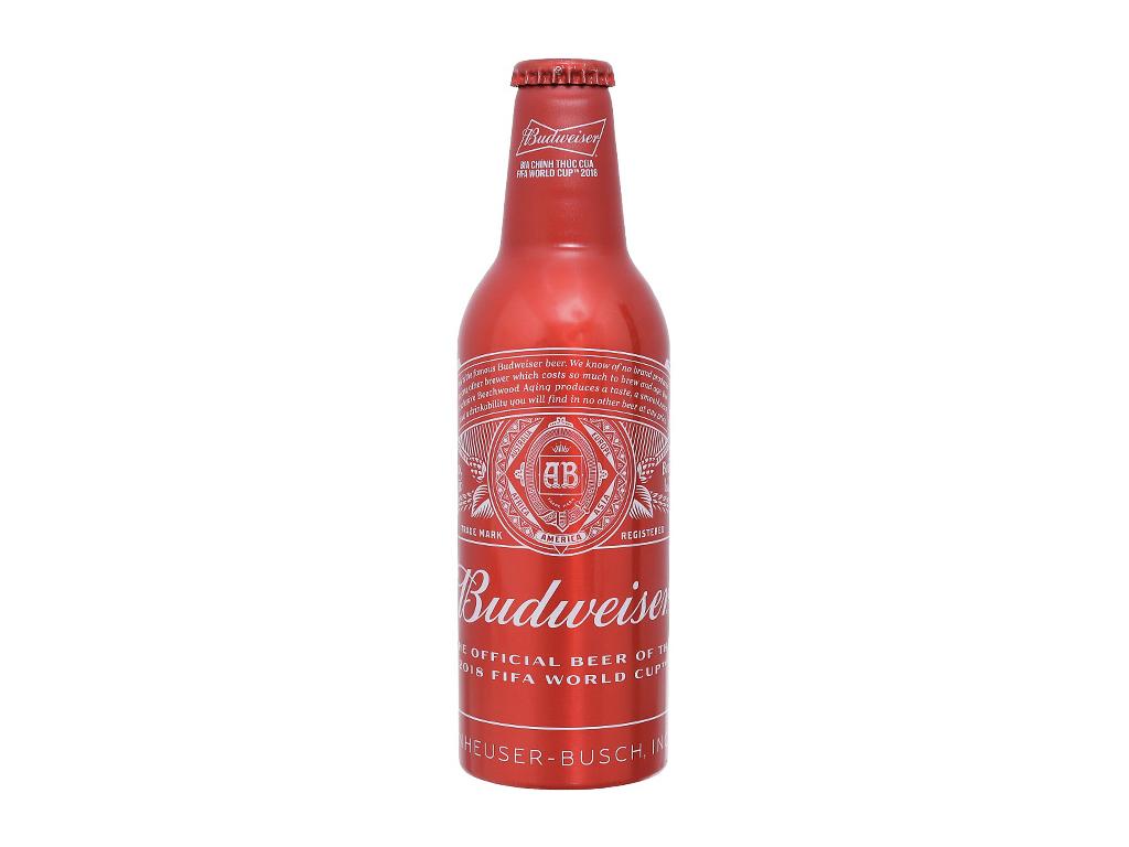 Thùng 24 chai Budweiser Alumium 355ml 2
