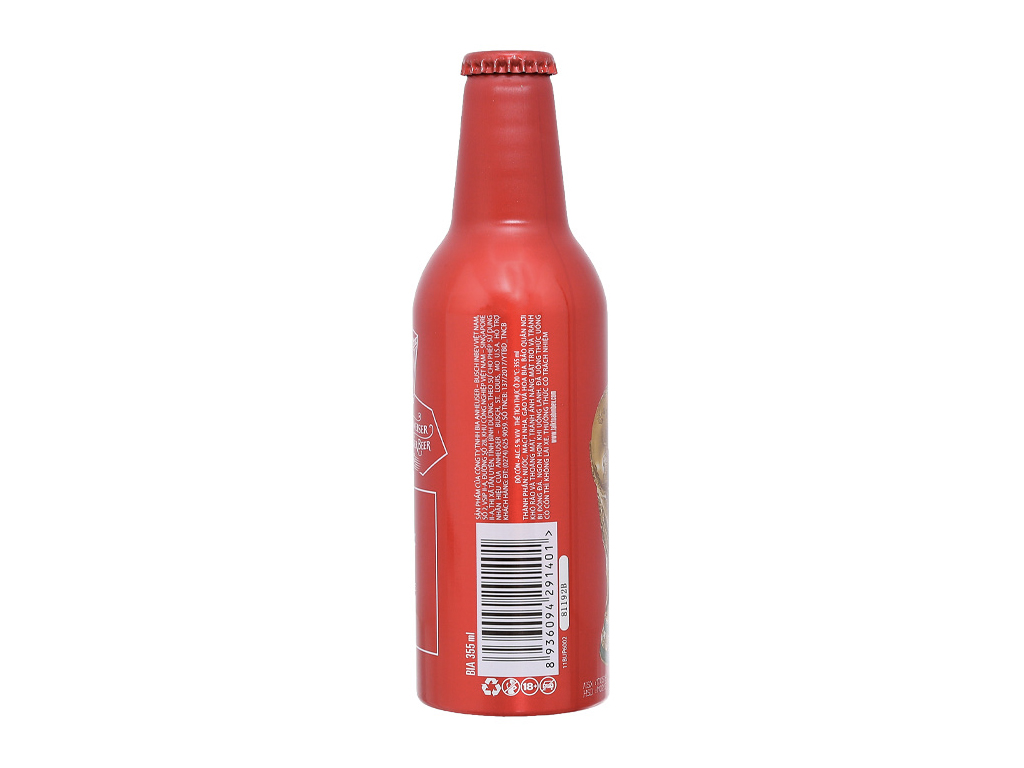 Thùng 24 chai Budweiser Alumium 355ml 3