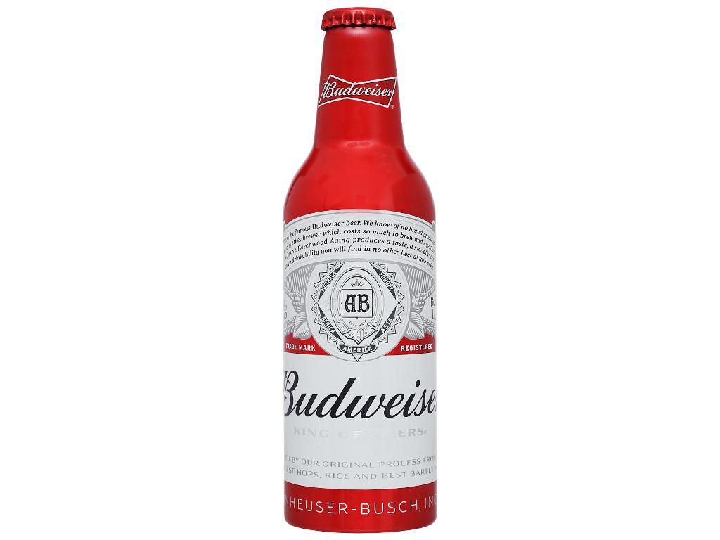Thùng 24 chai Budweiser Alumium 355ml 5