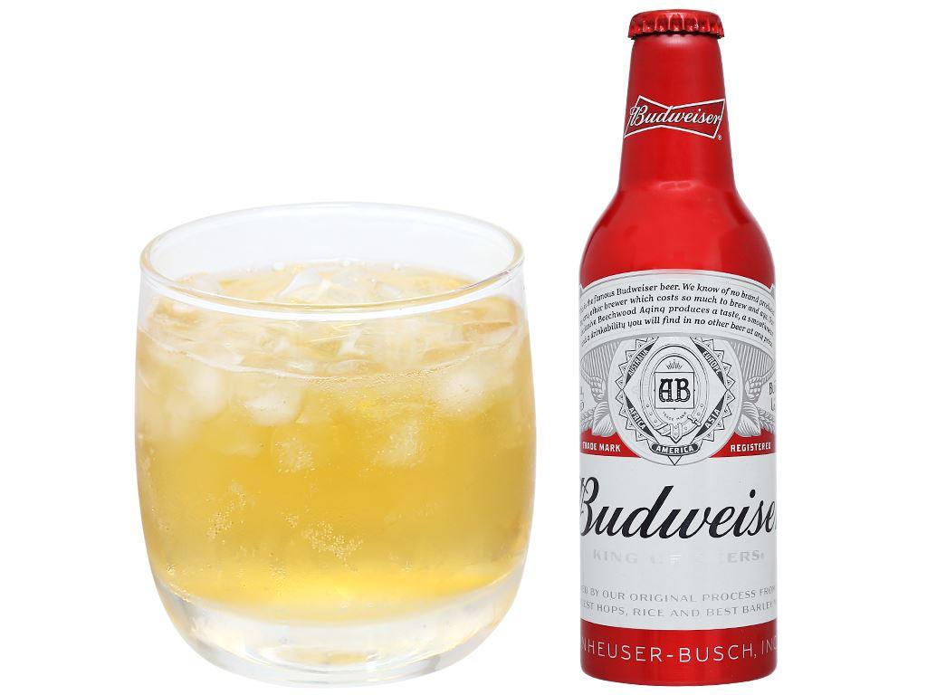 Thùng 24 chai Budweiser Alumium 355ml 8