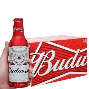 Thùng 24 chai Budweiser Alumium 355ml