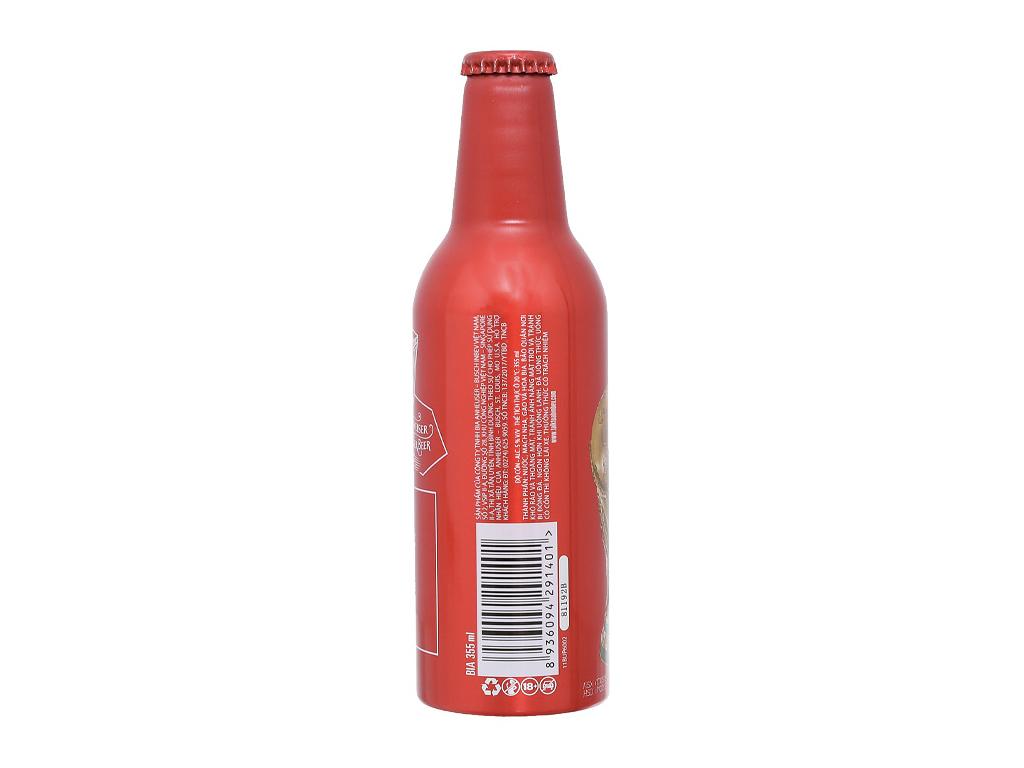 Bia Budweiser Alumium 355ml 2