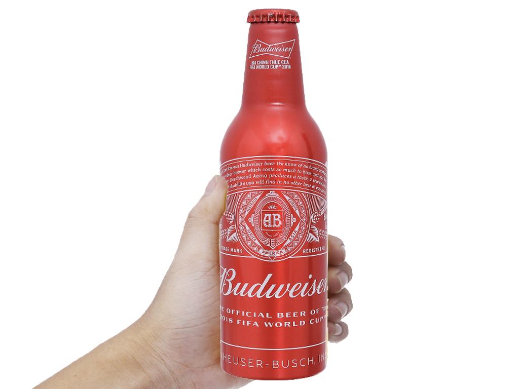 Bia Budweiser Alumium 355ml 4