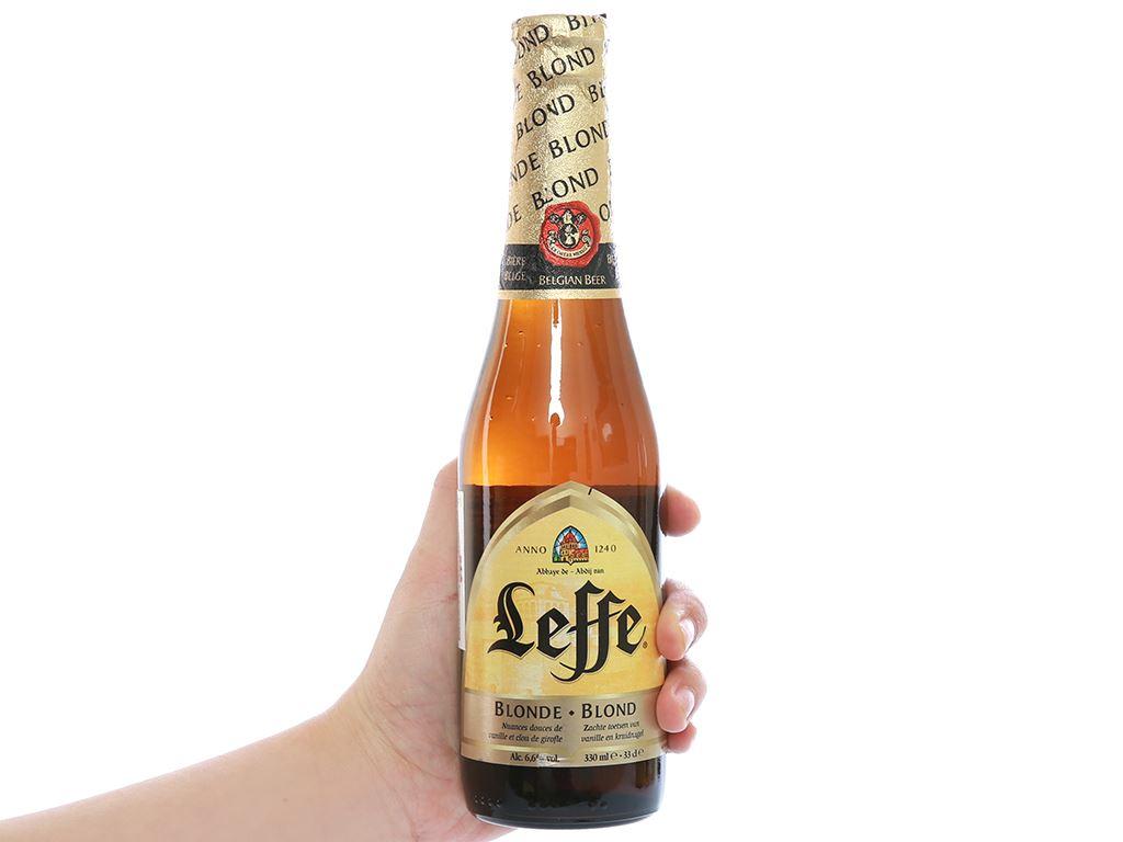 Bia Leffe Blonde 330ml 3