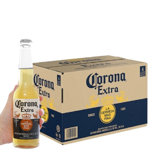 Thùng 24 chai bia Corona Extra 355ml