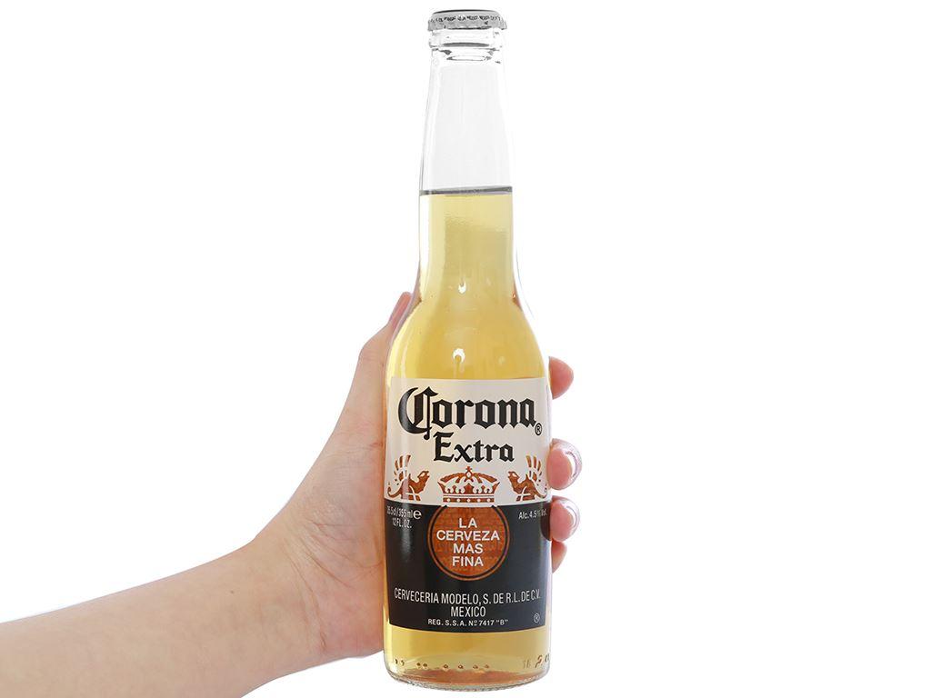 Thùng 24 chai bia Corona Extra 355ml 8