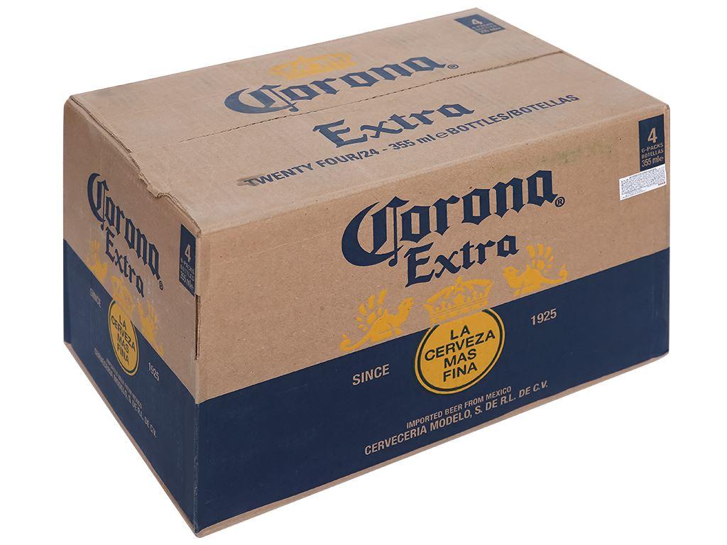 Thùng 24 chai bia Corona Extra 355ml 1