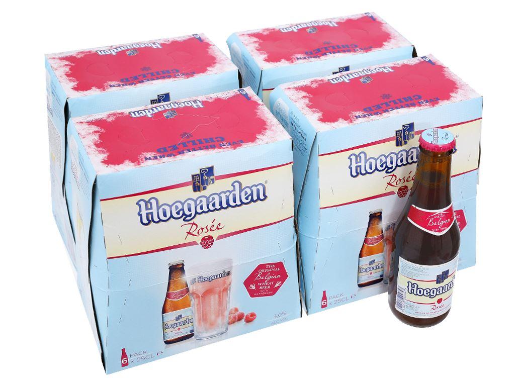 24 chai bia Hoegaarden 250ml 1