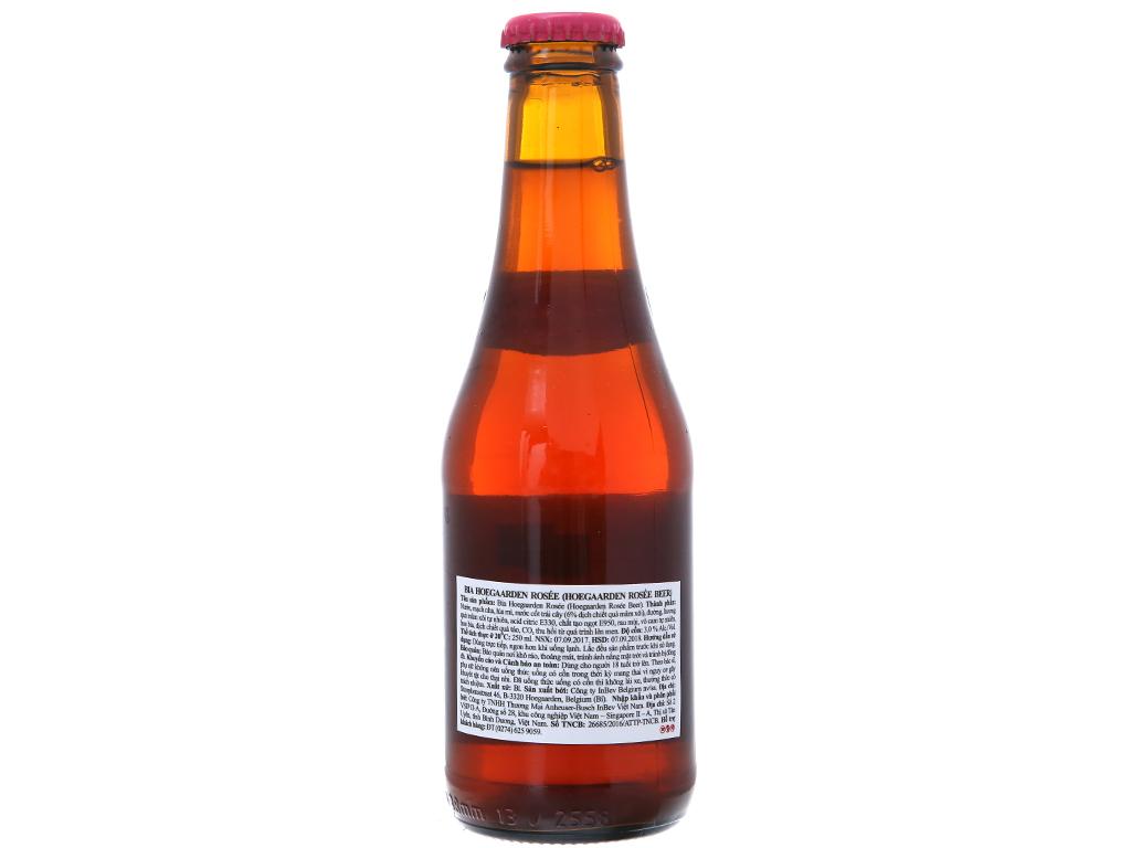 24 chai bia Hoegaarden 250ml 3