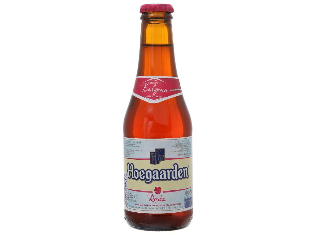 Bia Hoegaarden Rosee 250ml 2
