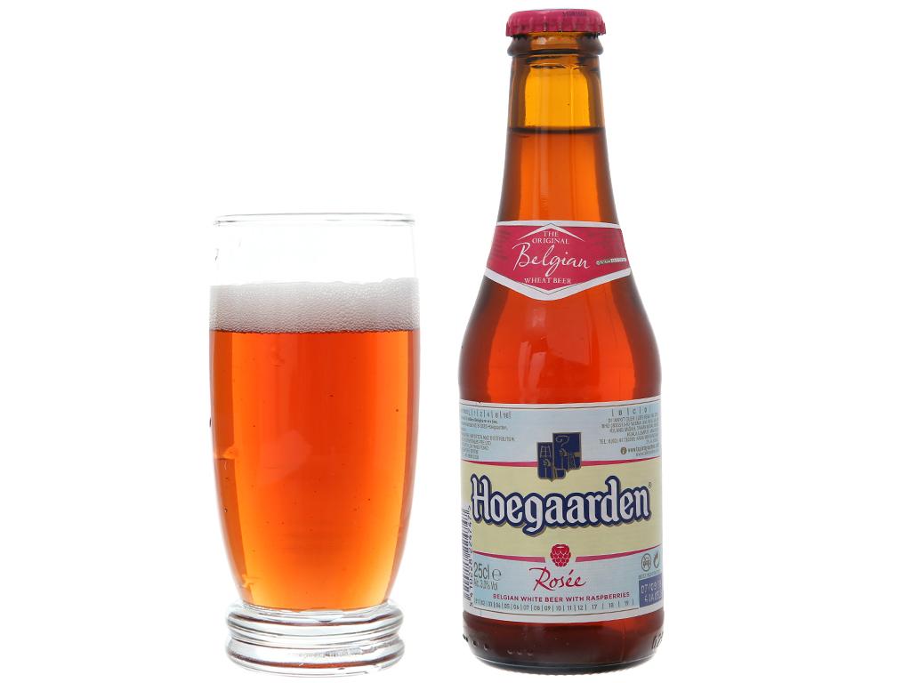 Bia Hoegaarden Rosee 250ml 4