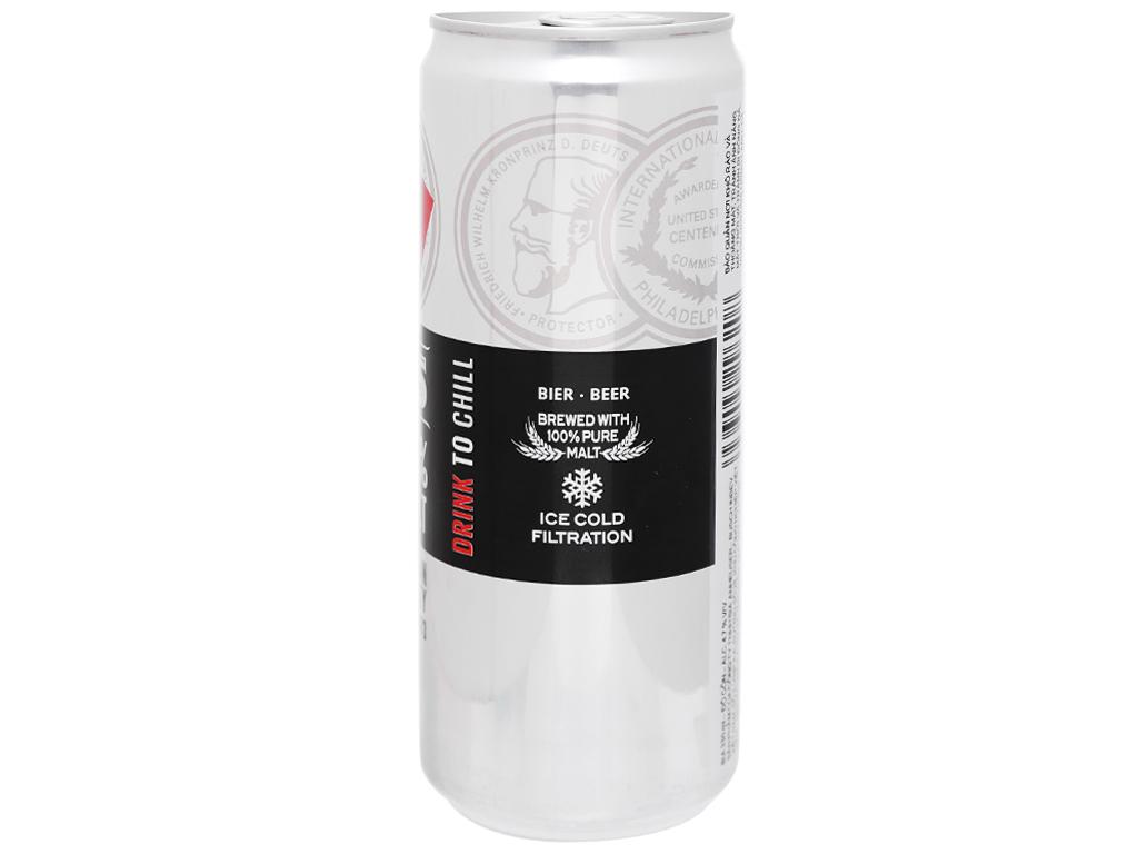 Thùng 24 lon bia Beck's Ice 330ml 10