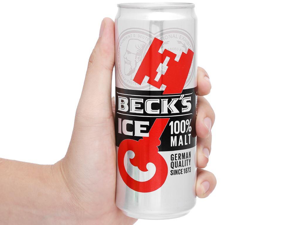 Thùng 24 lon bia Beck's Ice 330ml 13
