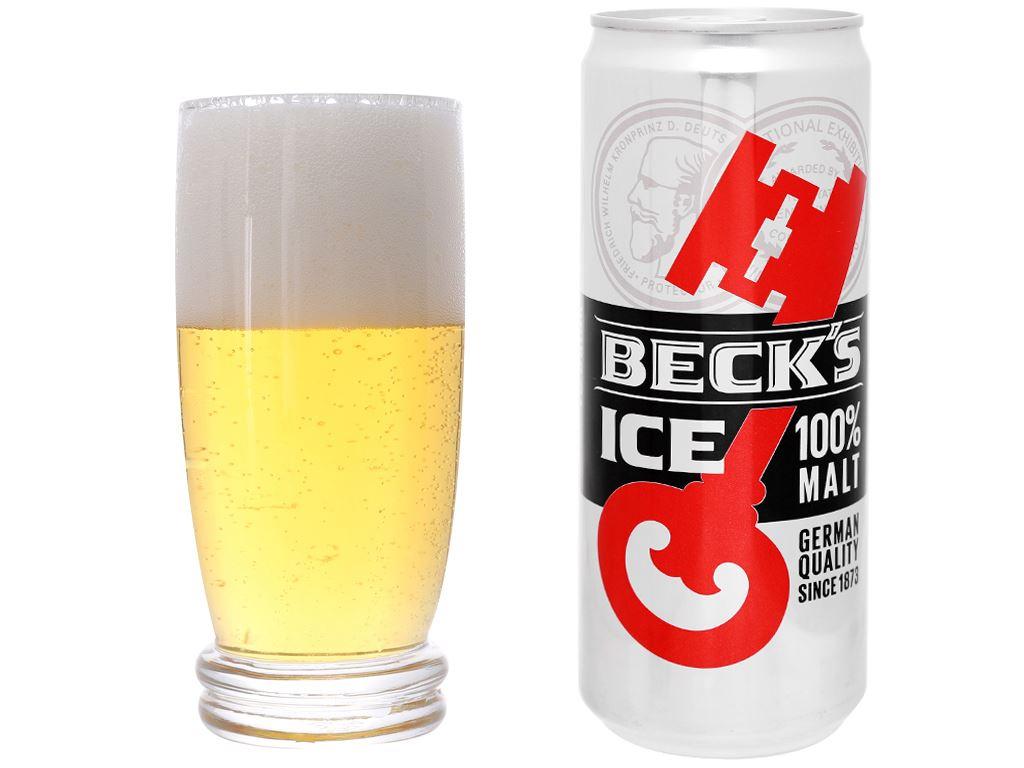 Thùng 24 lon bia Beck's Ice 330ml 14