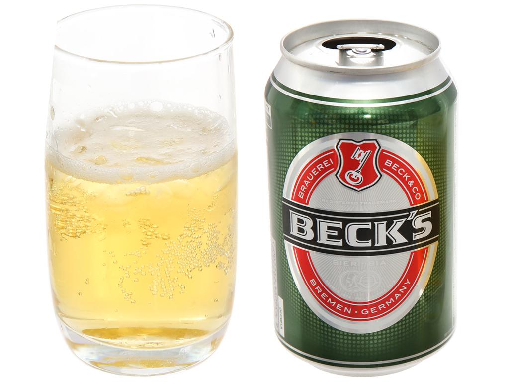 Thùng 24 lon bia Beck's 330ml 4