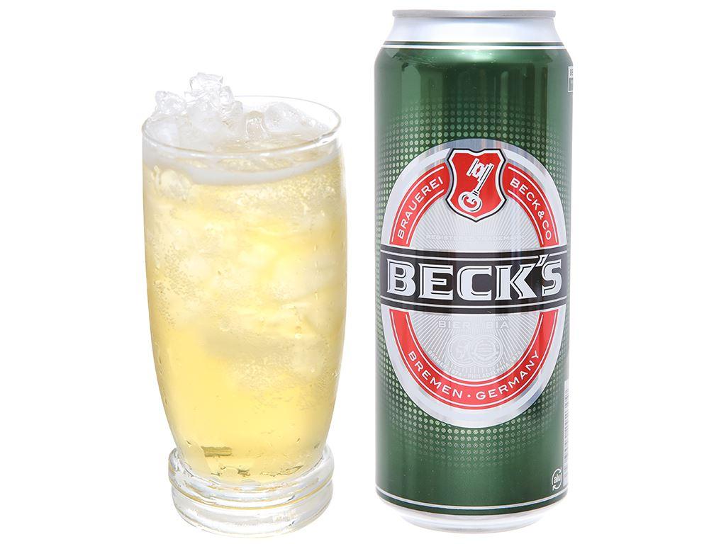 Thùng 12 lon bia Beck's 500ml 6