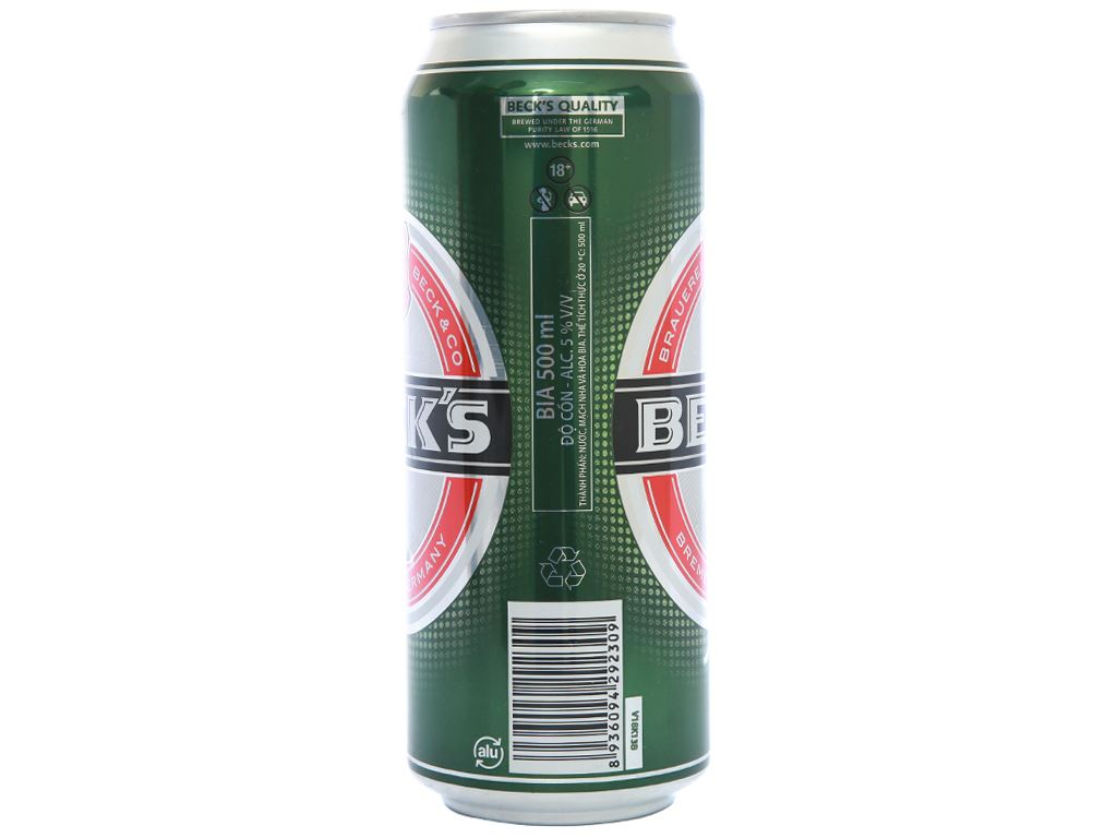 Bia Beck's 500ml 2