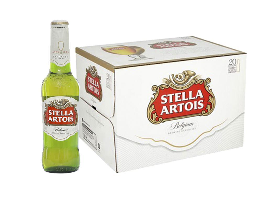 Thùng 24 chai bia Stella Artois 330ml 1