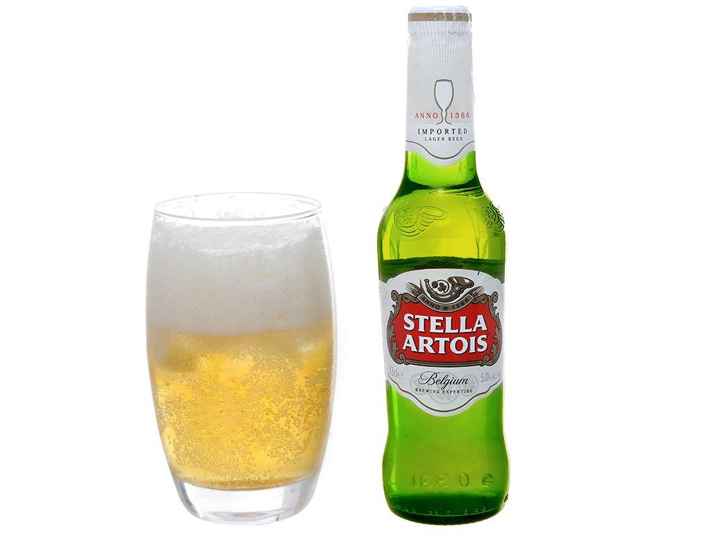 Thùng 24 chai bia Stella Artois 330ml 4