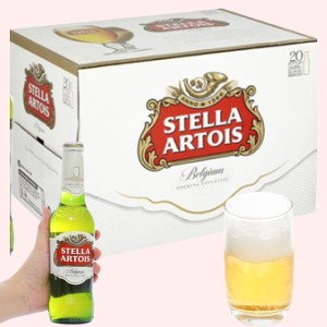 Thùng 24 chai bia Stella Artois 330ml