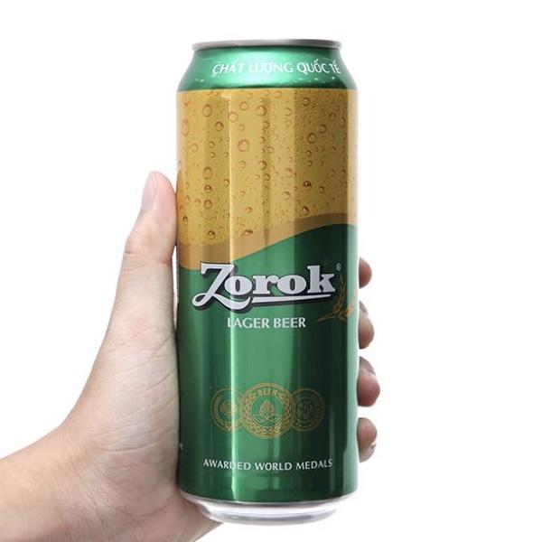 Bia Zorok Lager 500ml